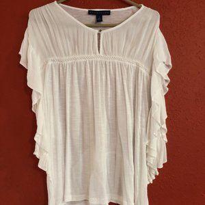 Bandolino Women's XL White Blouse